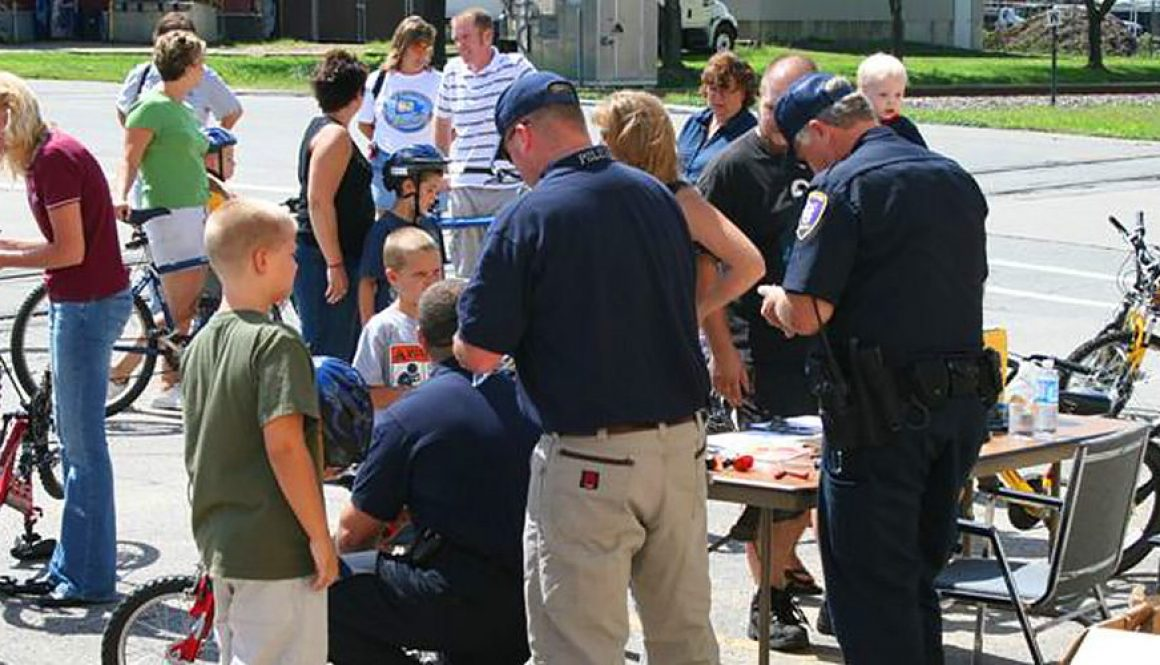 West Salem Police Department Ice Cream Social and Bike Safety